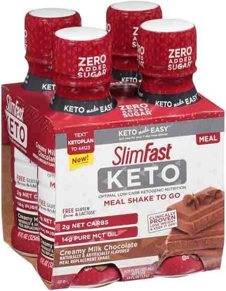 SlimFast Keto Meal Bars or Shakes