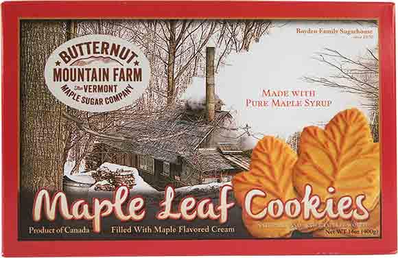 Butternut Mountain Farm Maple Cream Cookies
