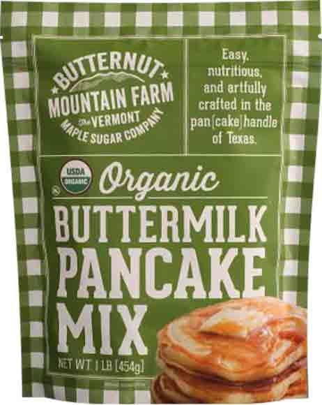 Butternut Mountain Farms Organic Buttermilk Pancake Mix