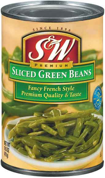 S&W Canned Vegetables