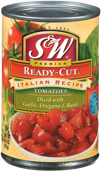 S&W Canned Tomatoes