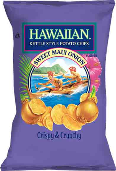 Hawaiian Kettle Style Potato Chips