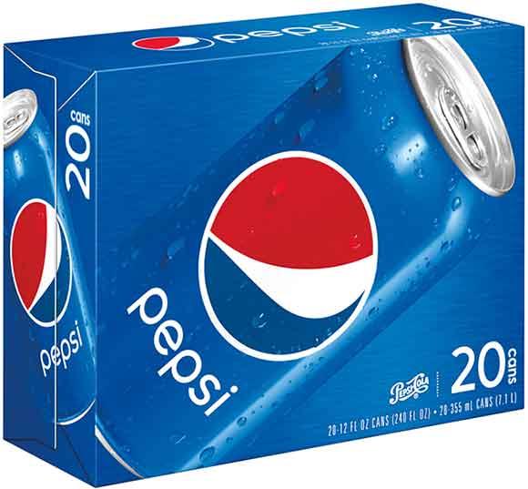 Pepsi 20 Packs