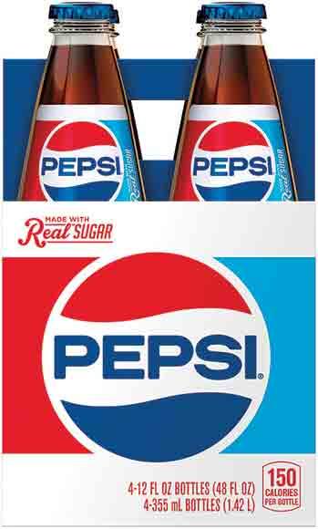 Pepsi 4-Packs
