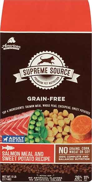 Supreme Source Grain Free Dog Food