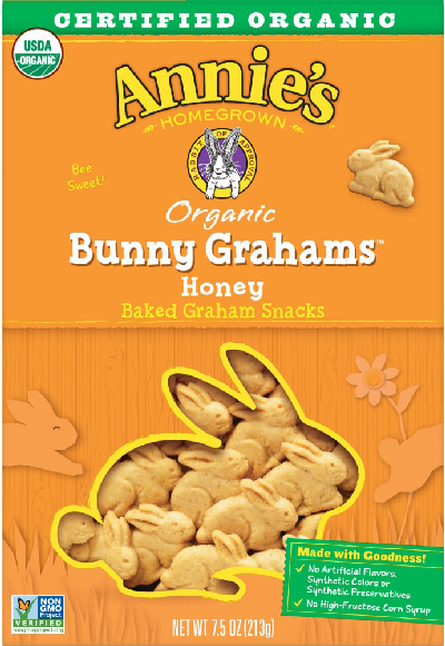 Annie's Cracker Bunnies or Snack Crackers