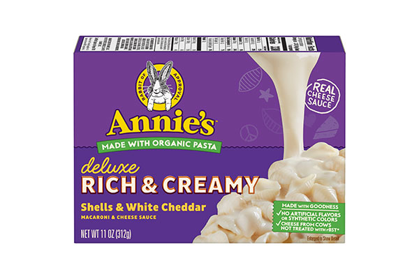 Annie's Deluxe Shells & Cheese