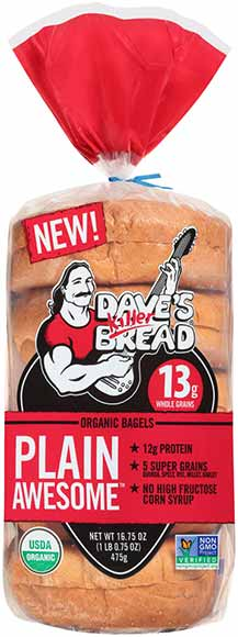 Dave's Killer Bread Organic Bagels