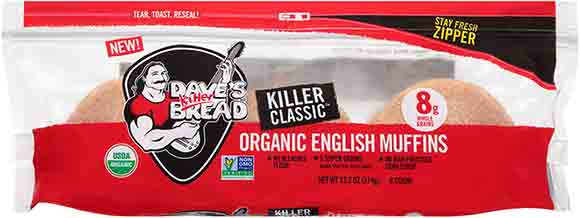 Dave's Killer Bread English Muffins
