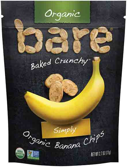 Bare Fruits Organic Banana Chips