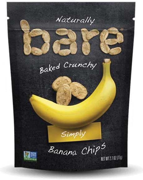 Bare Baked Coconut Or Banana Chips