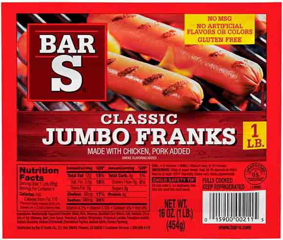 Bar-S Jumbo Franks