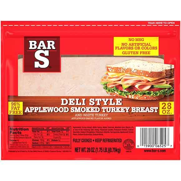 Bar-S Applewood Smoked Turkey Breast