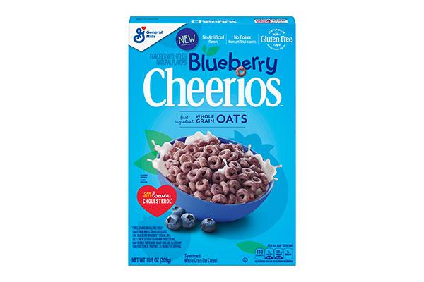 General Mills Blueberry Cherrios