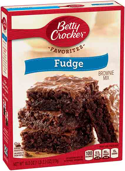 Betty Crocker Family Fudge Brownie Mix