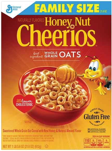 Honey Nut Cheerios Cereal