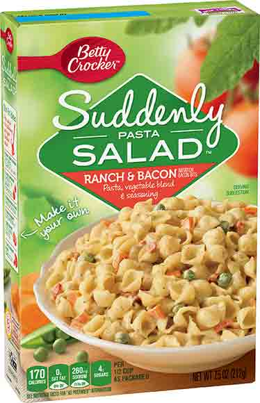 Betty Crocker Suddenly Pasta Salad Mix