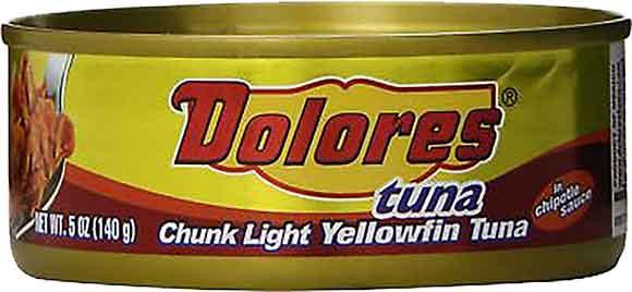 Dolores Yellow Fin Tuna Salad