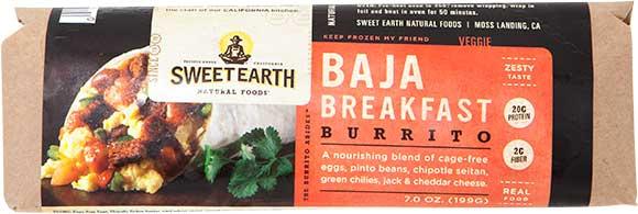 Sweet Earth Burritos
