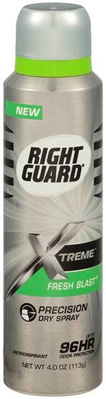 Right Guard Xtreme Fresh Blast Spray