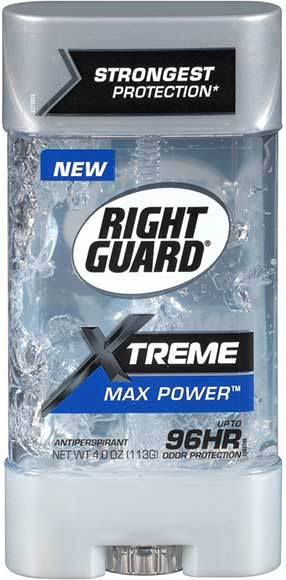 Right Guard Xtreme Max Power Gel