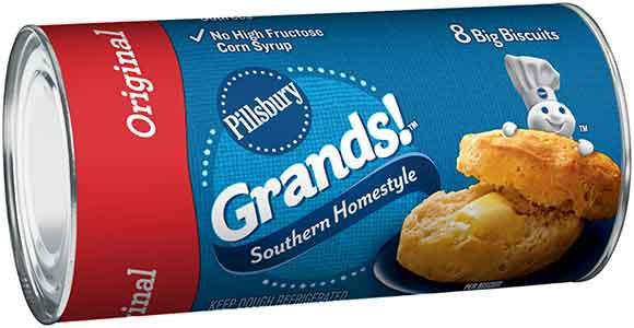 Pillsbury Crescent Rolls or Grand Biscuits