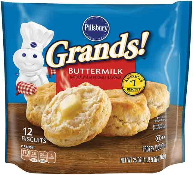Pillsbury Freezer Biscuits or Pie Crusts