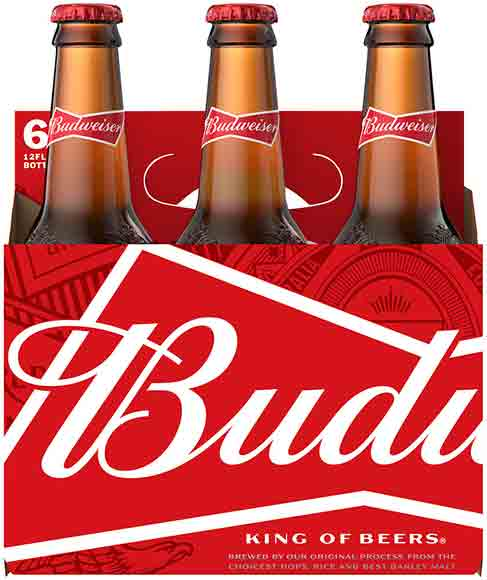 Budweiser 6-Packs