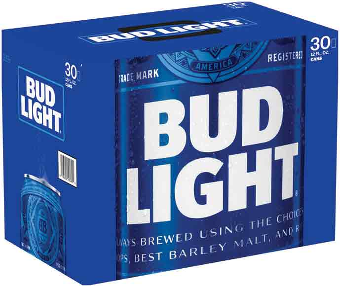Bud Light 30 Packs