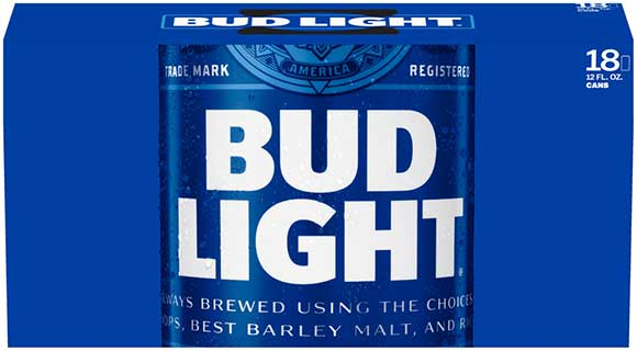 Bud Light 18 Packs