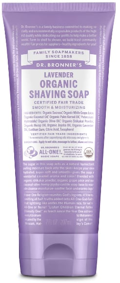 Dr. Bronner's Shave Soap