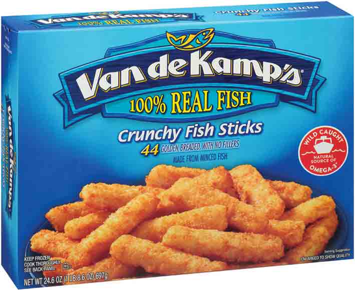 Van de Kamp's Fish Sticks or Fillets