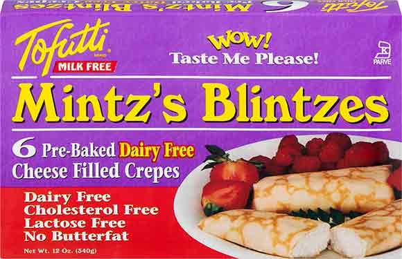 Tofutti Mintz's Blintzes