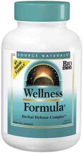 Source Naturals Wellness Formula Supplements