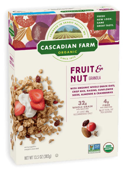 Cascadian Farms Cereal or Granola