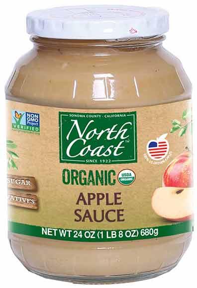 North Coast Organic Applesauce
