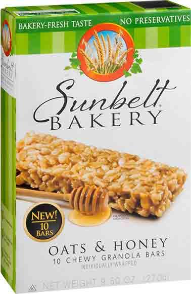 Sunbelt Bakery Granola Bars