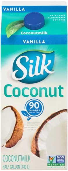 Silk Almond, Cashew, Coconut or Soy Milk