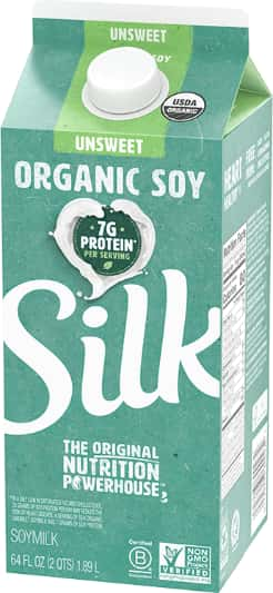 Silk Almond, Cashew, Coconut or Soy Milk