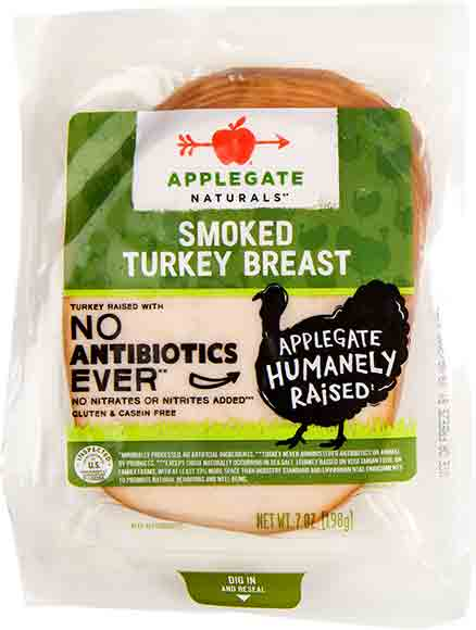 Applegate Farms Lunch Meats or Sliced Cheese