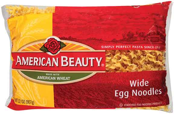 American Beauty Wide Egg Noodles