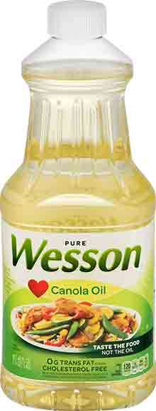Wesson Corn Oil