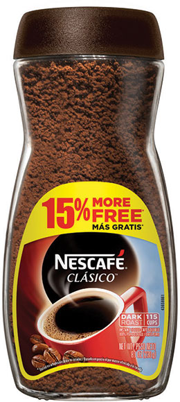 Nescafé Bonus Size Clásico Instant Coffee