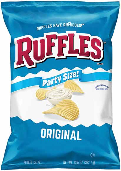 Frito Lay Party Size Potato or Tortilla Chips