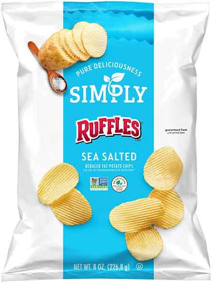Frito Lay Simply Reduced Fat Chips