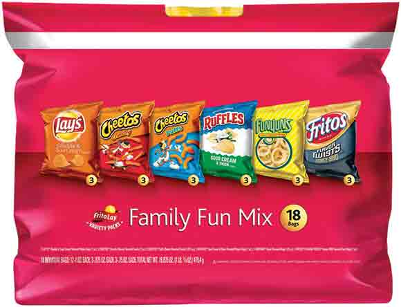 Frito Lay Multi Pack Chips
