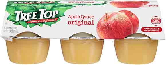 Tree Top Apple SauceCups