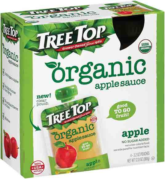 Tree Top Organic Apple Sauce