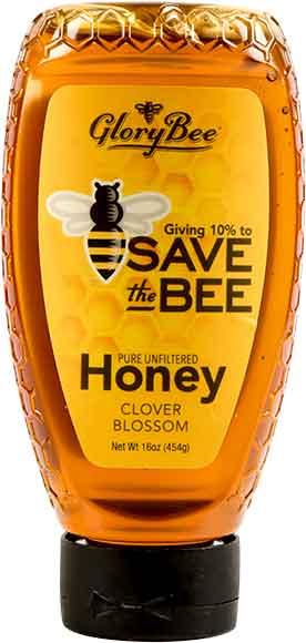 Glory Bee Save The Bee Clover Blossom Honey Sqze