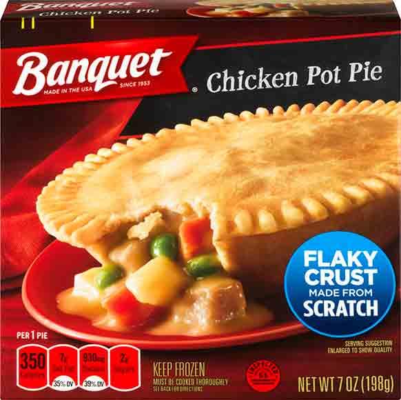 Banquet Pot Pies